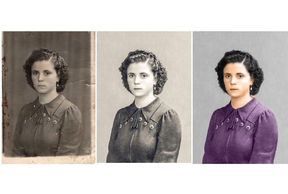 Restaurare fotografii vechi Focsani
