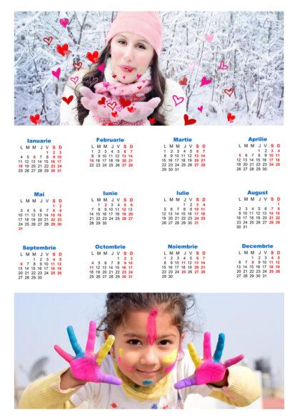 Calendare magnetice personalizate